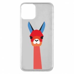 Etui na iPhone 11 Pink alpaca