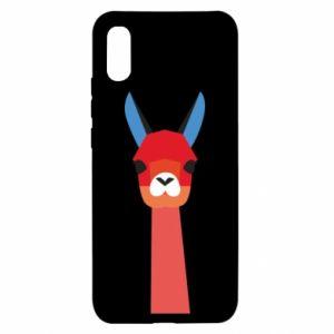 Etui na Xiaomi Redmi 9a Pink alpaca
