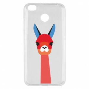 Etui na Xiaomi Redmi 4X Pink alpaca