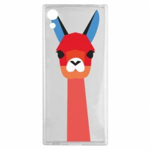 Etui na Sony Xperia XA1 Pink alpaca