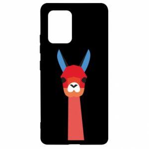 Etui na Samsung S10 Lite Pink alpaca