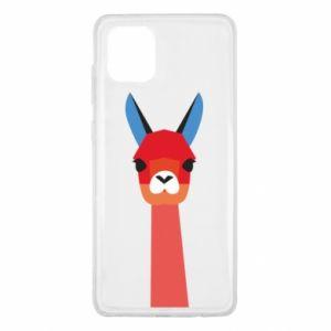 Etui na Samsung Note 10 Lite Pink alpaca