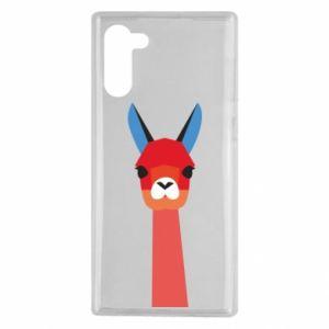 Etui na Samsung Note 10 Pink alpaca