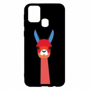 Etui na Samsung M31 Pink alpaca