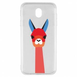 Etui na Samsung J7 2017 Pink alpaca