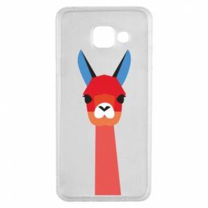 Etui na Samsung A3 2016 Pink alpaca