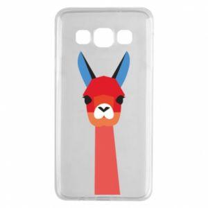 Etui na Samsung A3 2015 Pink alpaca