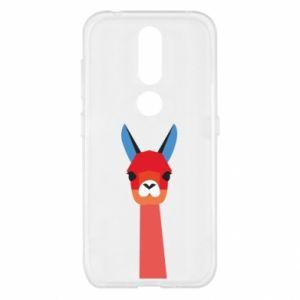 Etui na Nokia 4.2 Pink alpaca