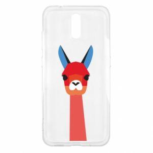 Etui na Nokia 2.3 Pink alpaca
