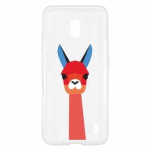 Etui na Nokia 2.2 Pink alpaca