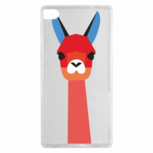 Etui na Huawei P8 Pink alpaca