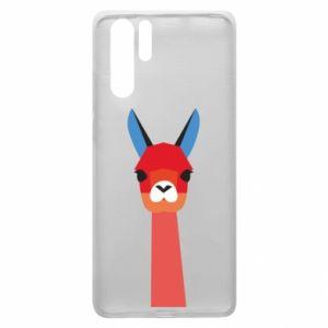 Etui na Huawei P30 Pro Pink alpaca