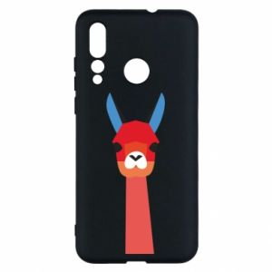 Etui na Huawei Nova 4 Pink alpaca