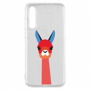 Etui na Huawei P20 Pro Pink alpaca