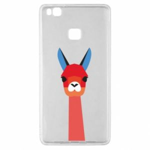 Etui na Huawei P9 Lite Pink alpaca