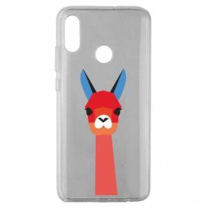 Etui na Huawei Honor 10 Lite Pink alpaca