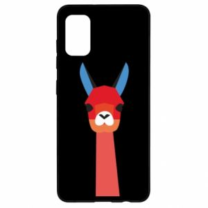 Etui na Samsung A41 Pink alpaca