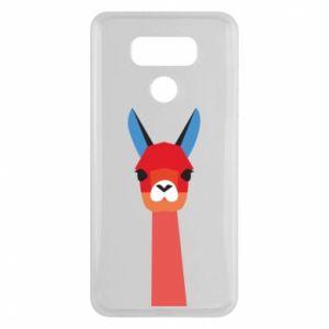 Etui na LG G6 Pink alpaca
