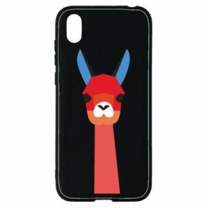 Etui na Huawei Y5 2019 Pink alpaca