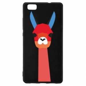 Etui na Huawei P 8 Lite Pink alpaca