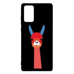 Etui na Samsung Note 20 Pink alpaca