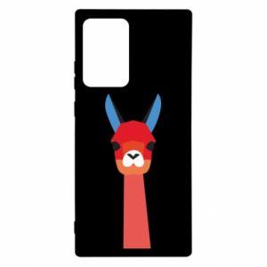 Etui na Samsung Note 20 Ultra Pink alpaca
