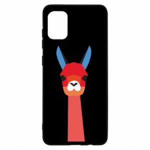 Etui na Samsung A31 Pink alpaca