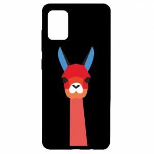 Etui na Samsung A51 Pink alpaca