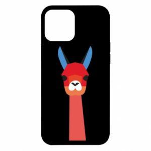 Etui na iPhone 12 Pro Max Pink alpaca
