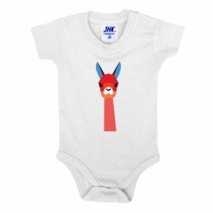 Body dziecięce Pink alpaca