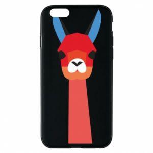Etui na iPhone 6/6S Pink alpaca