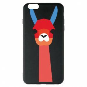 Etui na iPhone 6 Plus/6S Plus Pink alpaca