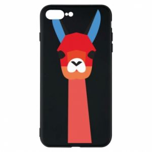 Etui do iPhone 7 Plus Pink alpaca