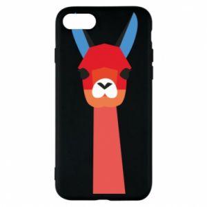 Etui na iPhone 8 Pink alpaca