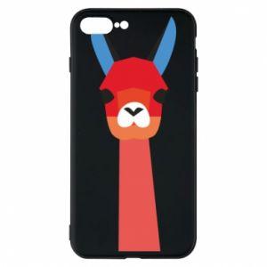 Etui na iPhone 8 Plus Pink alpaca