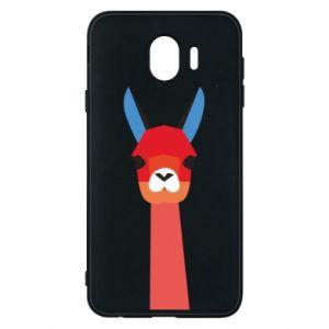 Etui na Samsung J4 Pink alpaca
