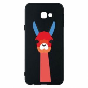 Etui na Samsung J4 Plus 2018 Pink alpaca