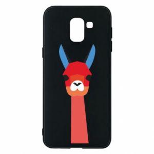 Etui na Samsung J6 Pink alpaca