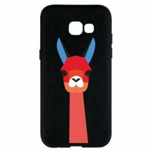 Etui na Samsung A5 2017 Pink alpaca