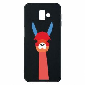 Etui na Samsung J6 Plus 2018 Pink alpaca
