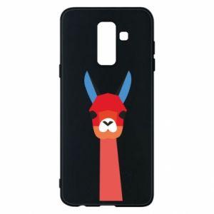 Etui na Samsung A6+ 2018 Pink alpaca