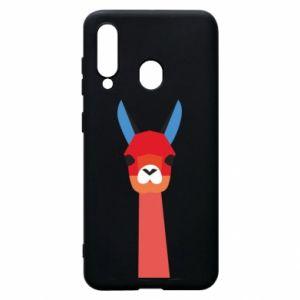 Etui na Samsung A60 Pink alpaca