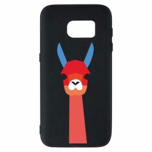 Etui na Samsung S7 Pink alpaca
