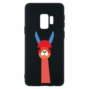 Etui na Samsung S9 Pink alpaca