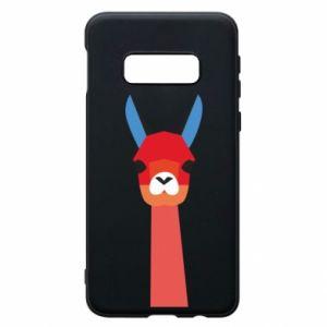 Etui na Samsung S10e Pink alpaca