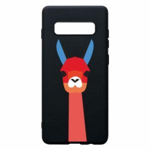 Etui na Samsung S10+ Pink alpaca
