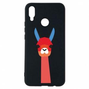 Etui na Huawei P Smart Plus Pink alpaca