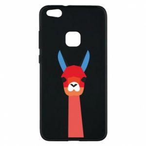 Etui na Huawei P10 Lite Pink alpaca
