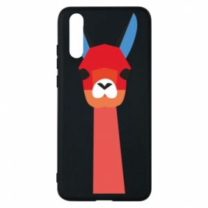 Etui na Huawei P20 Pink alpaca