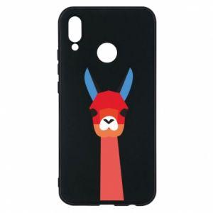 Etui na Huawei P20 Lite Pink alpaca